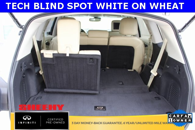 Certified Pre-Owned 2016 INFINITI QX60 TECH BLIND SPOT BRAKE ASSIST