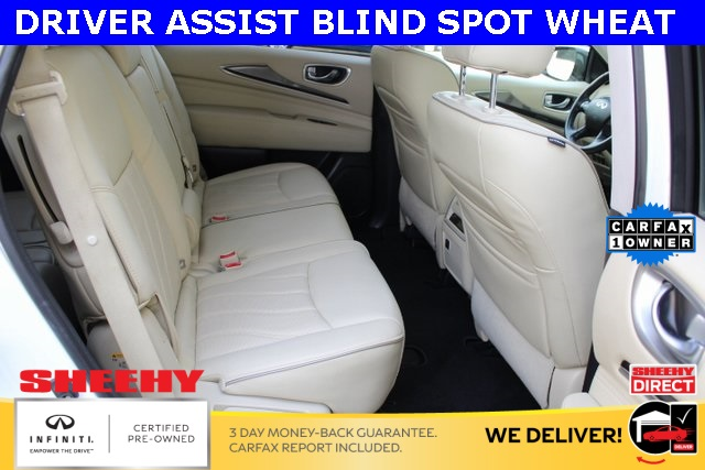 Certified Pre-Owned 2017 INFINITI QX60 DRIVER ASSIST AWD BLIND SPOT