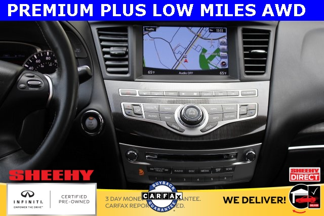 Certified Pre-Owned 2017 INFINITI QX60 AWD NAV BACK UP CAM