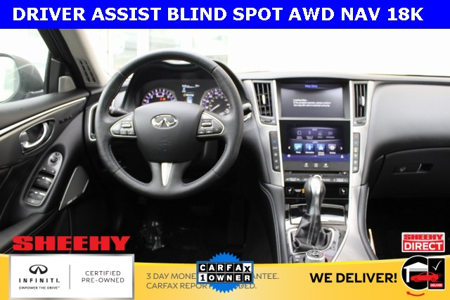 Certified Pre-Owned 2017 INFINITI Q50 3.0t DRIVER ASSIST BLIND SPOT