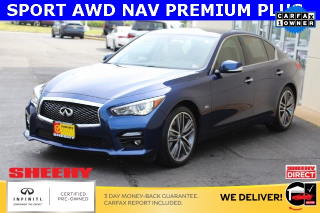 Certified Pre-Owned 2017 INFINITI Q50 Sport PREMIUM PLUS