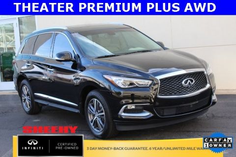 Certified Pre-Owned 2016 INFINITI QX60 THEATER PREMIUM PLUS