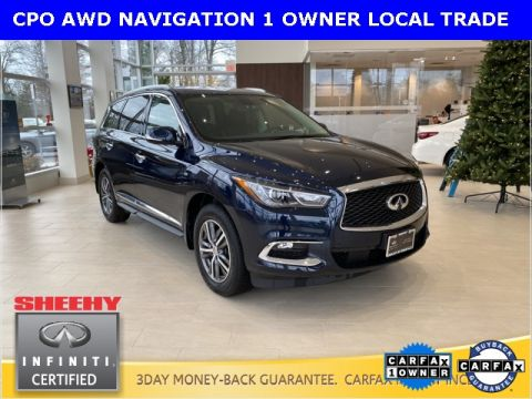 Certified Pre-Owned 2017 INFINITI QX60 PREMIUM PLUS/NAVIGATION