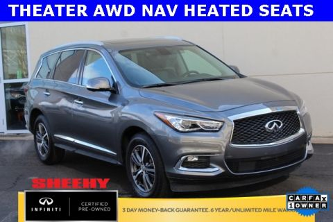 Certified Pre-Owned 2017 INFINITI QX60 THEATER AWD